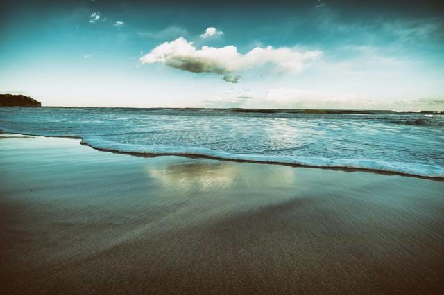ノスタルジックな海の写真