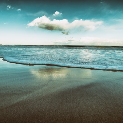 「ノスタルジックな海」の写真素材