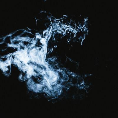 「マッドピエロのような煙」の写真素材