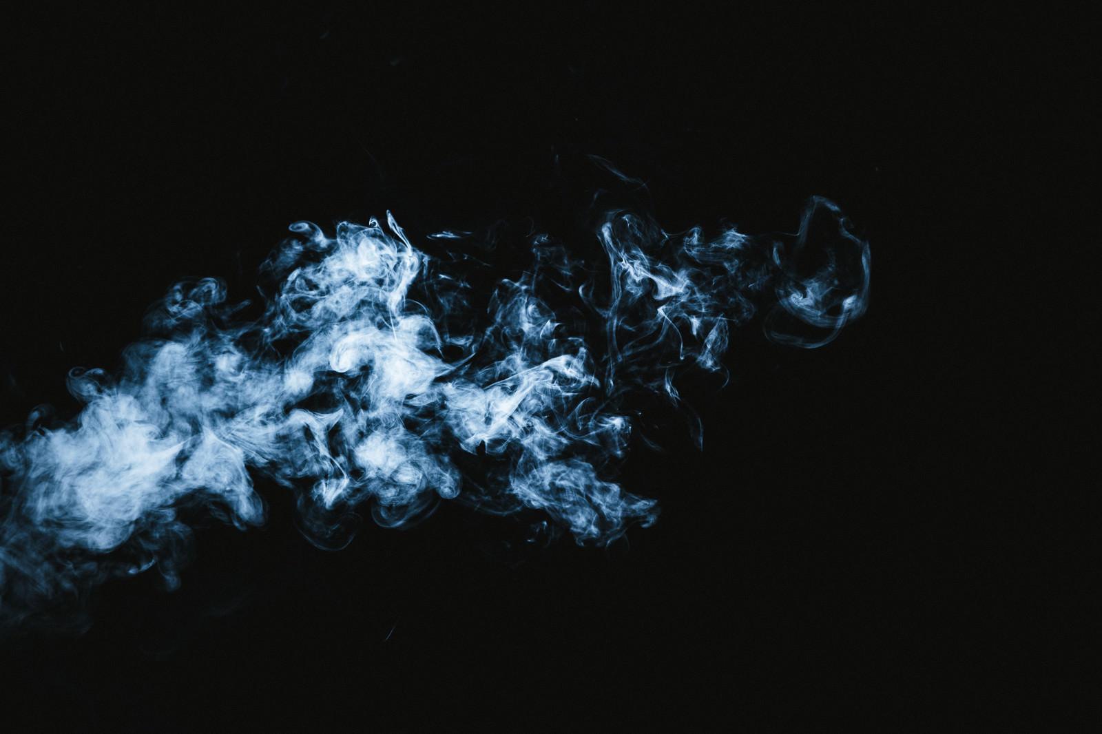「霊魂のような煙」の写真
