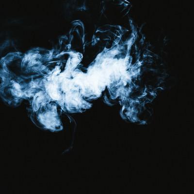 モワッとした煙の写真
