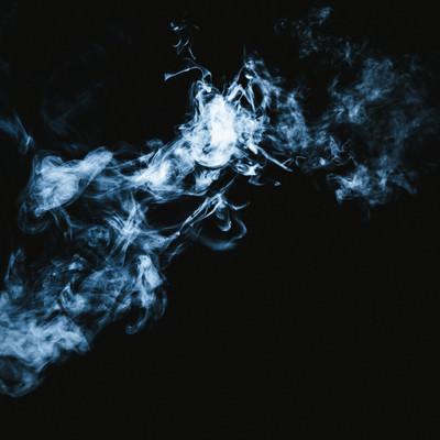 「煙(スモーク)」の写真素材