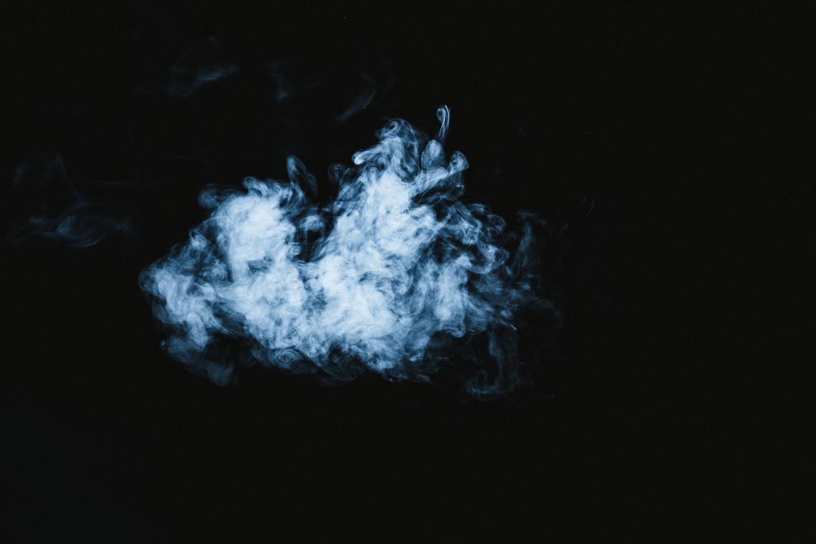 「浮遊煙」の写真