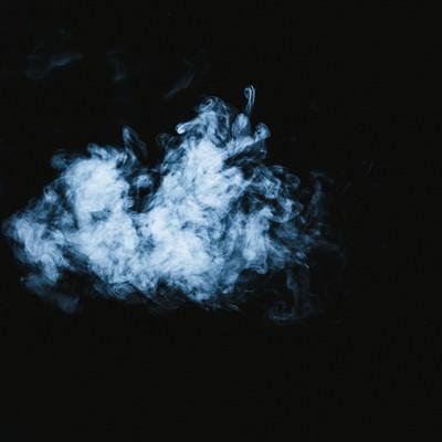 浮遊煙の写真