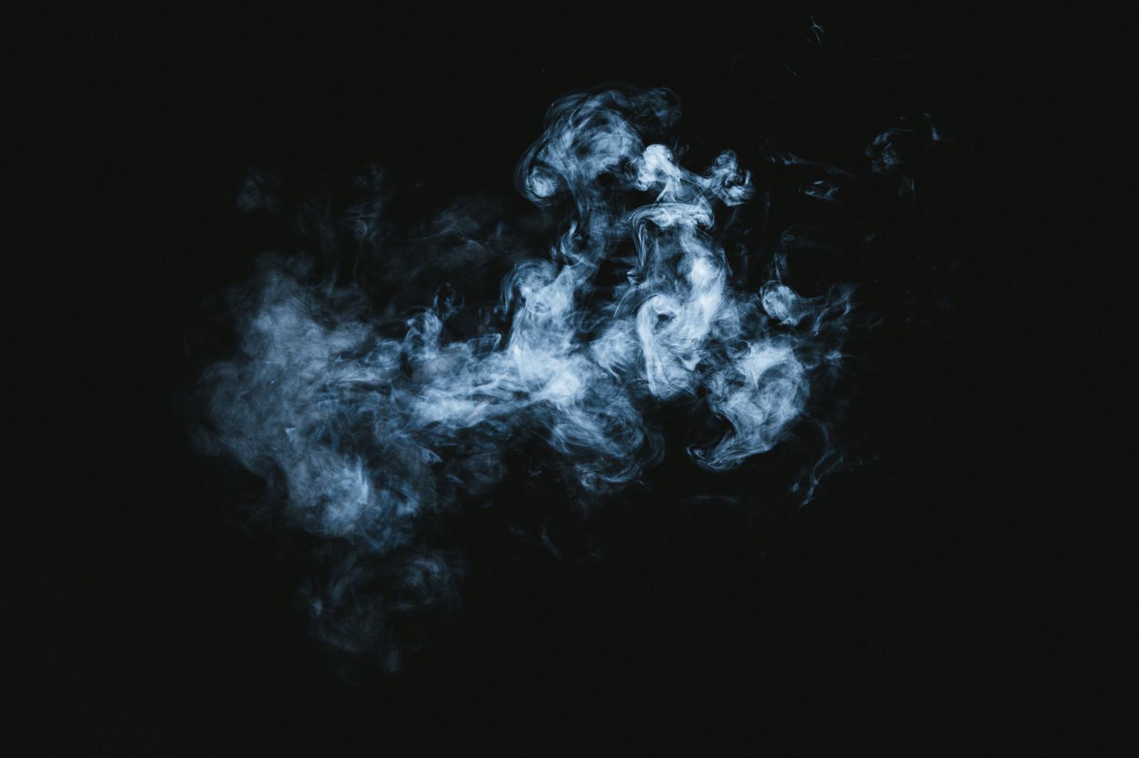 「滞留する煙」の写真
