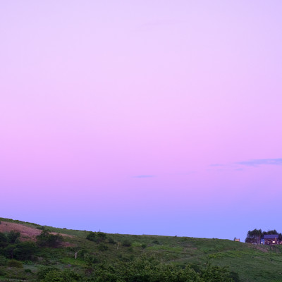 秋容の霧ヶ峰高原の写真