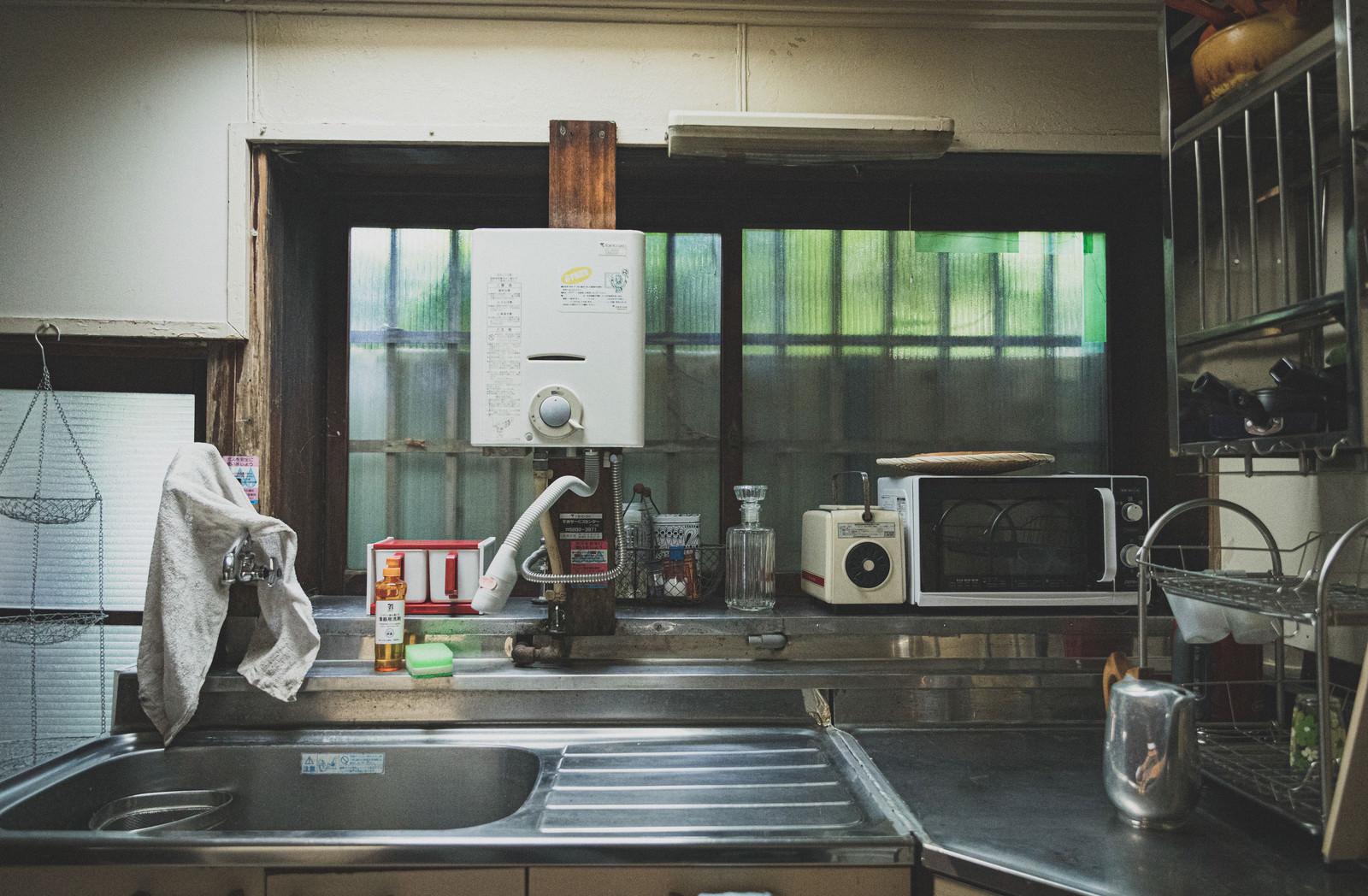 「昭和を感じる台所」の写真