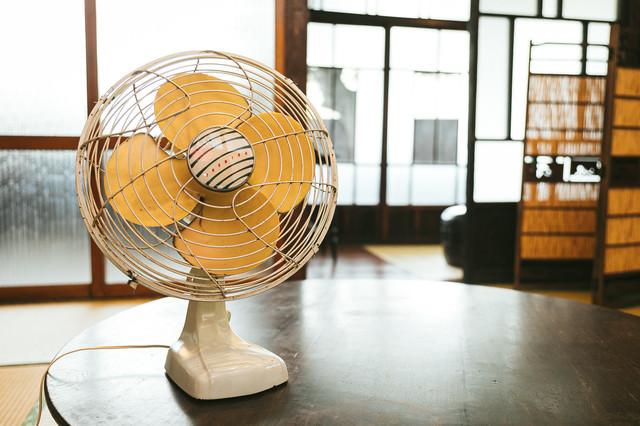 昭和の扇風機の写真
