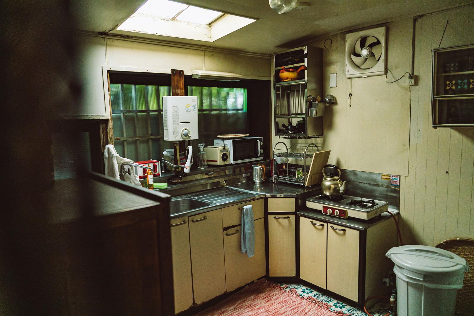 「懐かしい昭和の台所」の写真