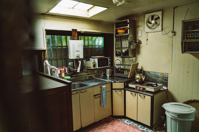 懐かしい昭和の台所の写真