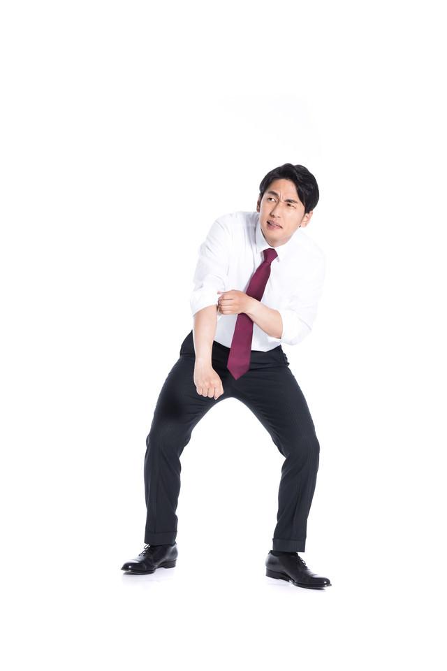 逆境に強い会社員の写真