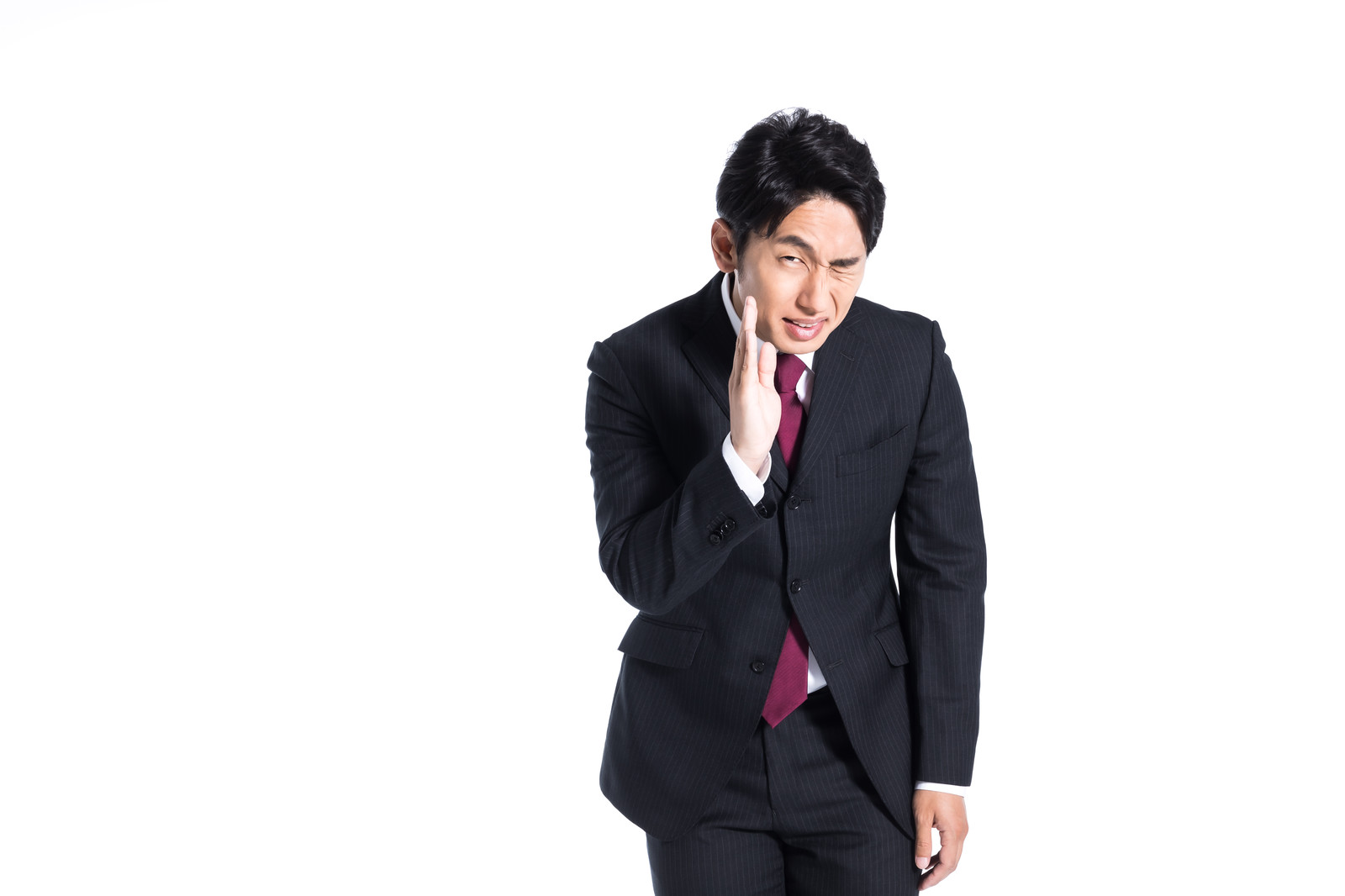 「「一生に一度のお願い!」を多用するダメ男」の写真[モデル:大川竜弥]