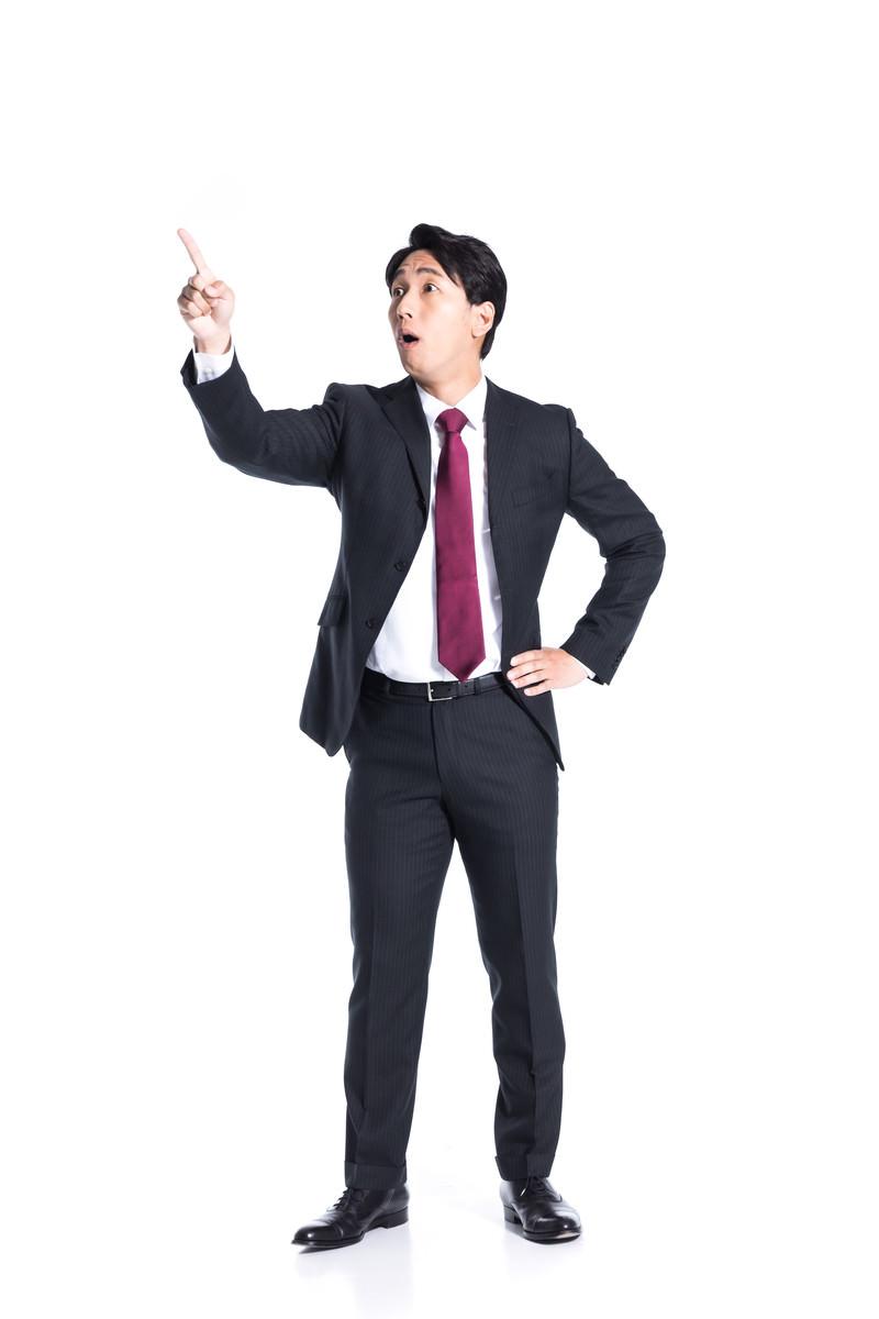 「更に高い目標値を設定する鬼上司」の写真