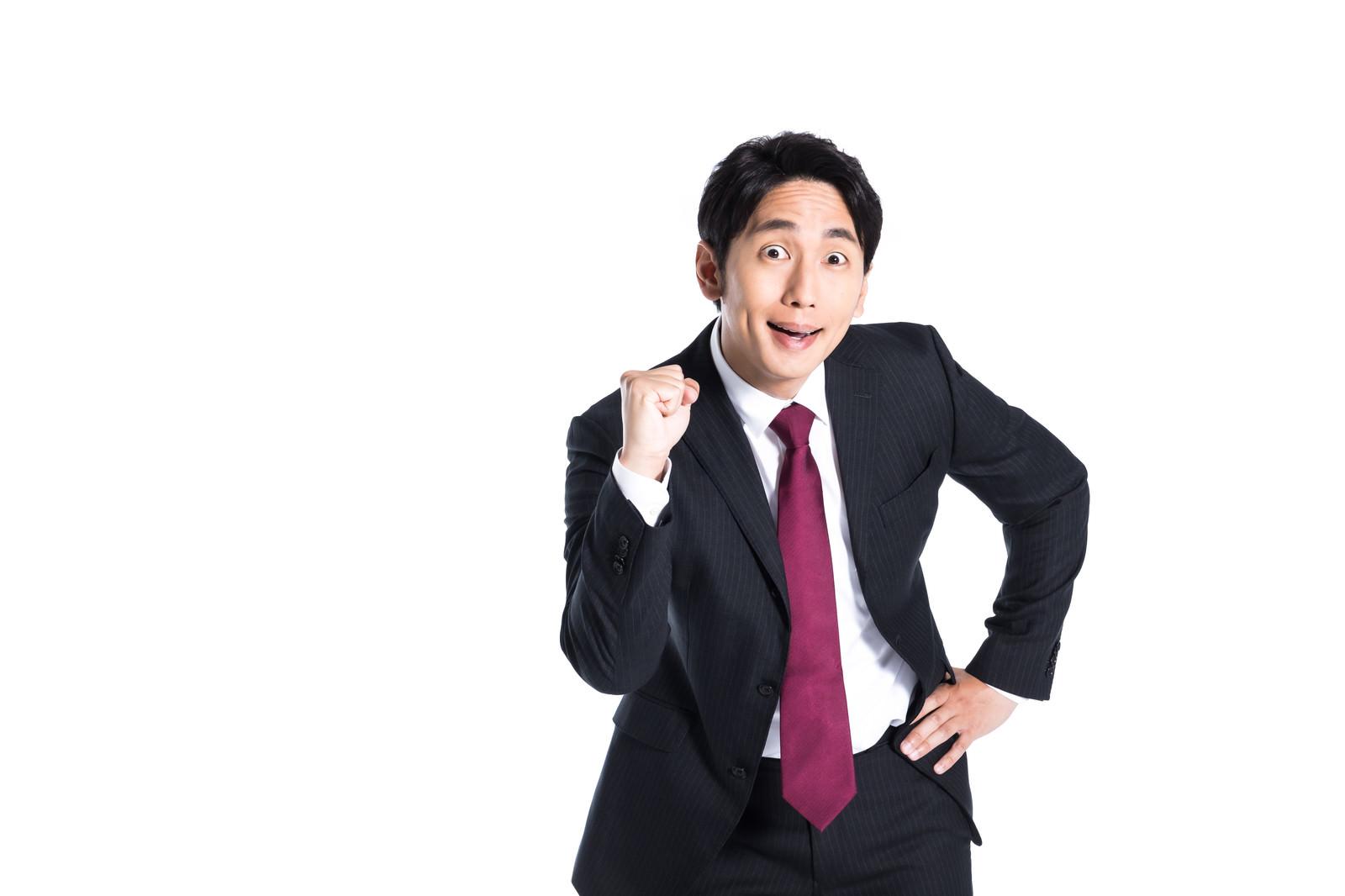 「朝活でイキっちゃう系社員」の写真[モデル:大川竜弥]