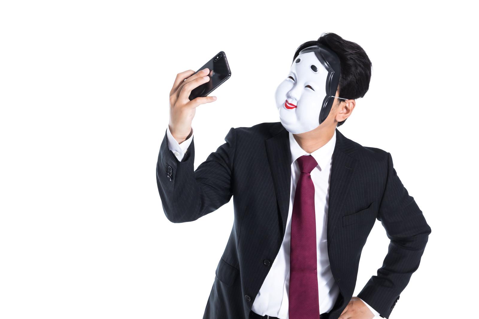 「カメラアプリで非肌フィルターを使う」の写真[モデル:大川竜弥]
