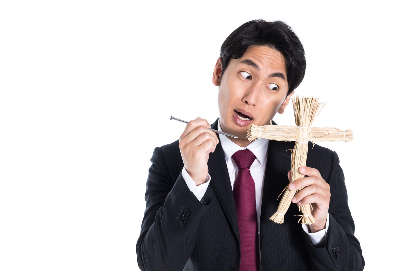 「復讐代行人」の写真[モデル:大川竜弥]