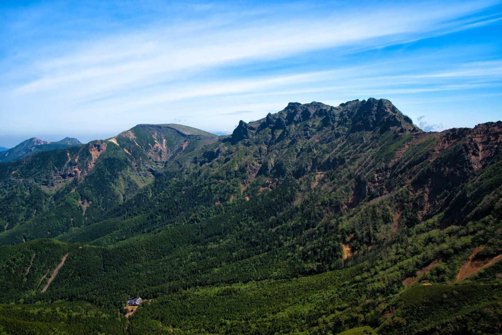「阿弥陀山頂から望む眺望」の写真