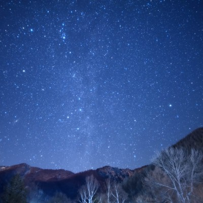 乗鞍高原の星空の写真