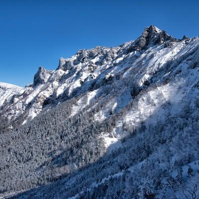 厳冬の横岳の写真