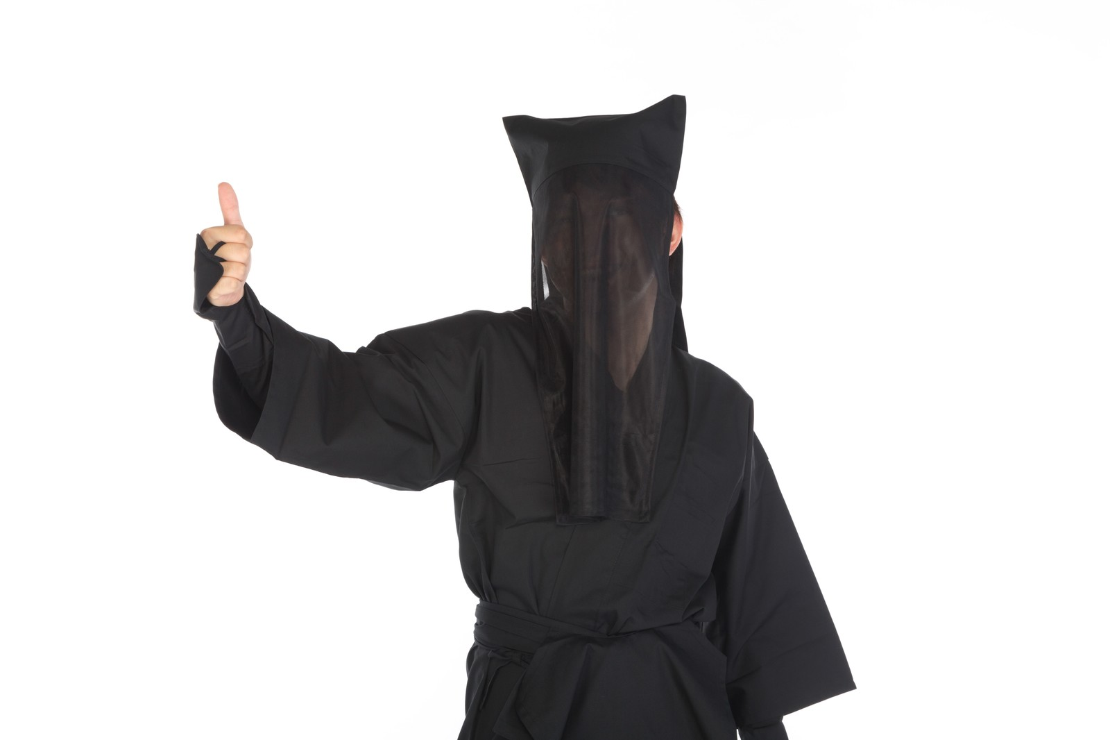 「黒子のグッジョブ」の写真[モデル:鈴木秀]