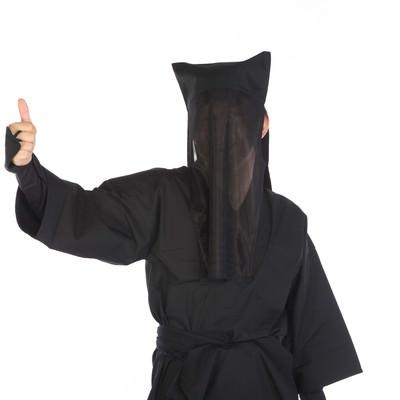 「黒子のグッジョブ」の写真素材