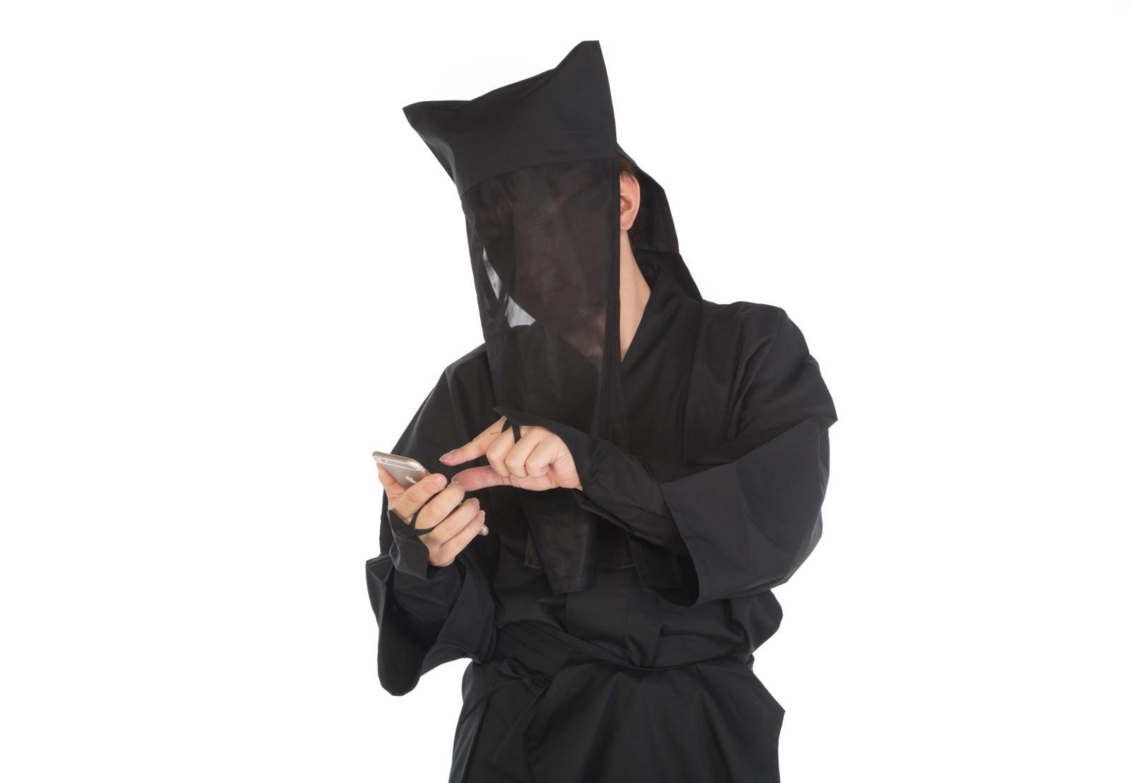 「ピンチアウト黒子」の写真[モデル:鈴木秀]
