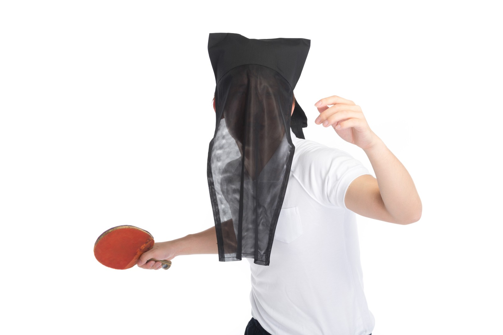 「匿名の卓球ボーイ」の写真[モデル:鈴木秀]