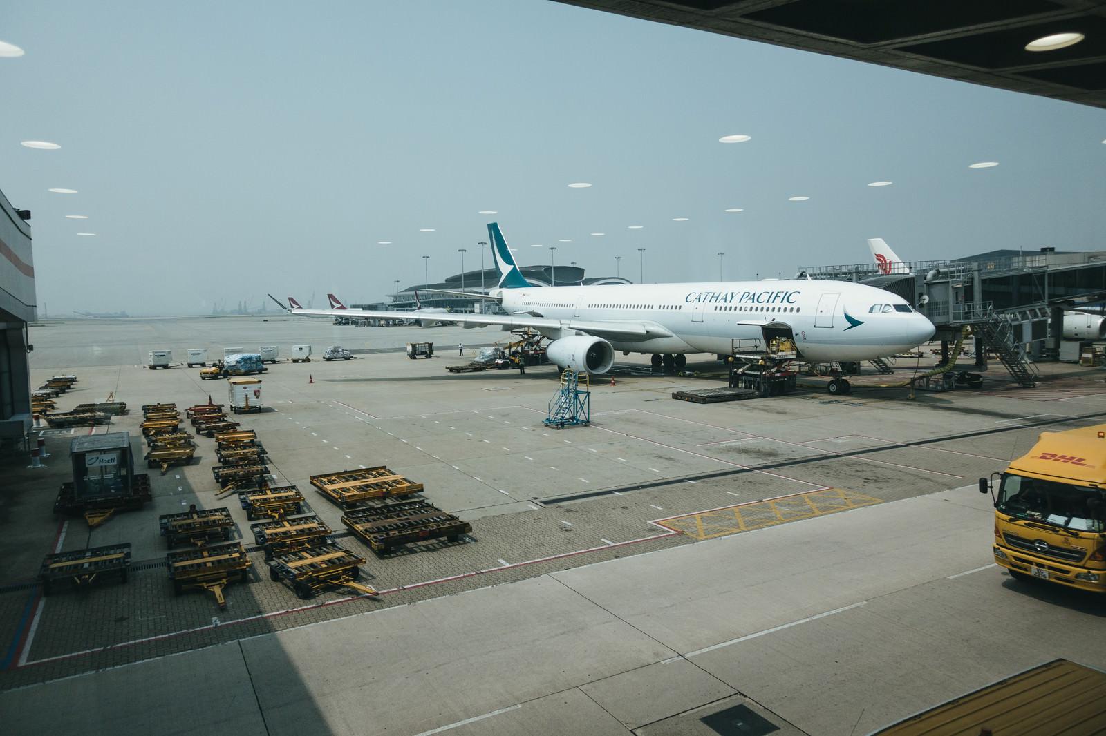 「海外の空港(香港)」の写真