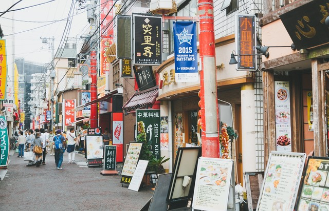 横浜中華街の中華料理店の写真