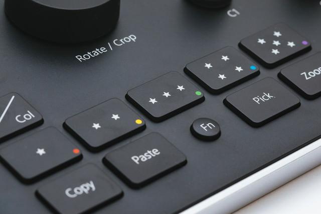 スターレーティングのボタンの写真