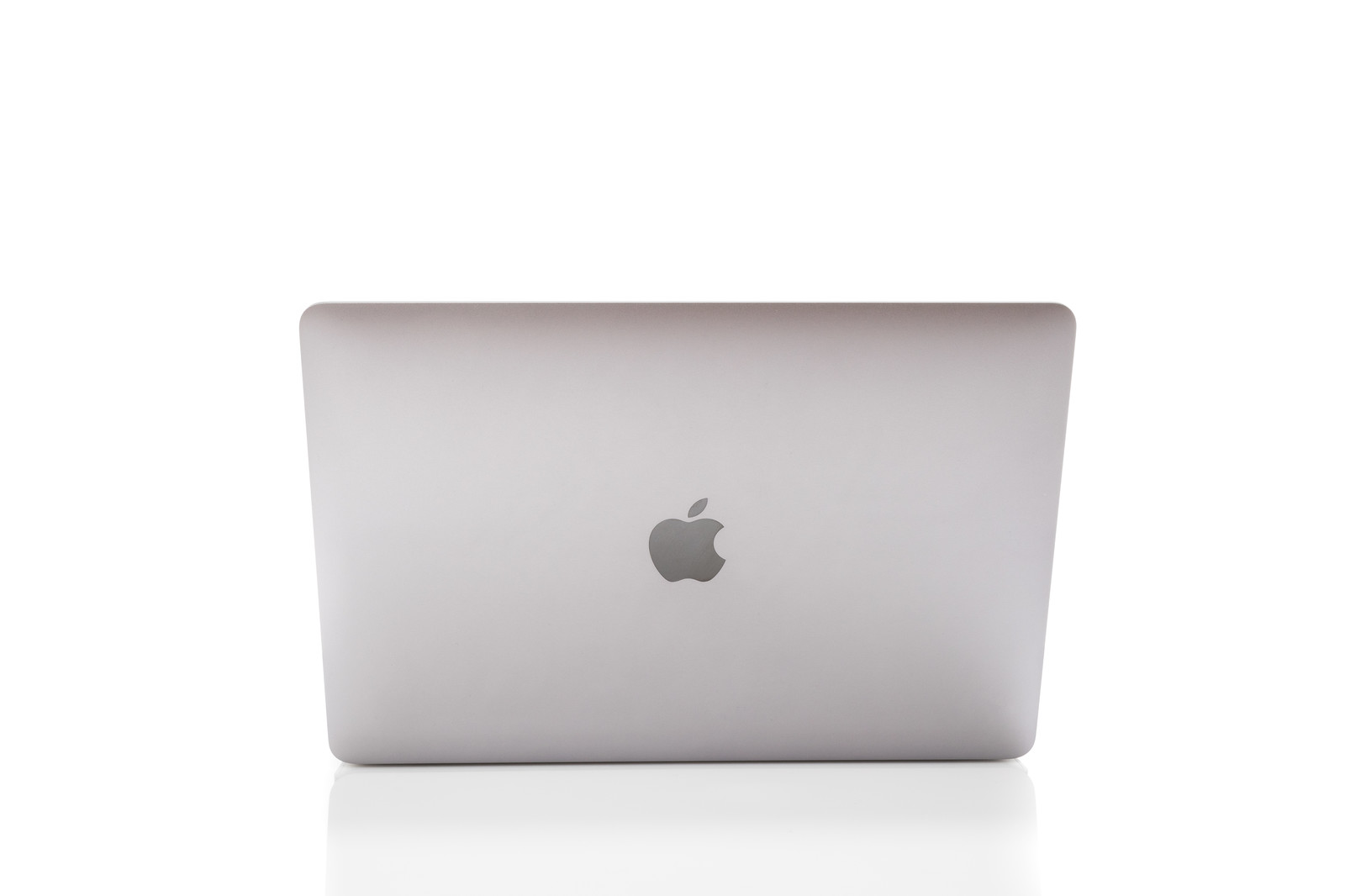 「Macbookの背面」の写真