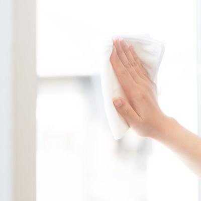 窓拭きキュッキュの写真