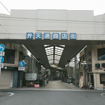 「前橋中心商店街(弁天通商店街)」の写真素材