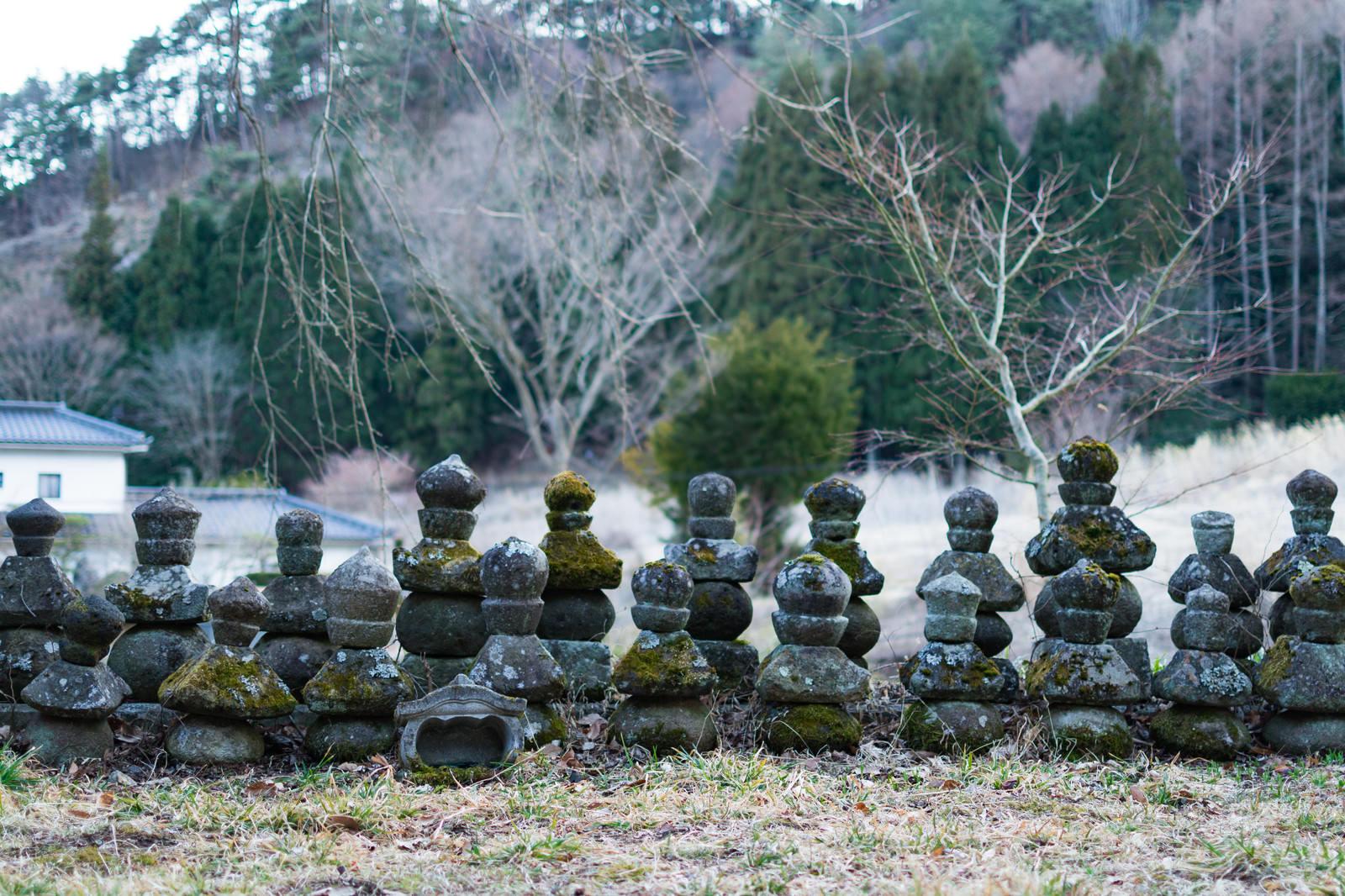 「鳥屋(とや)の弥勒堂」の写真