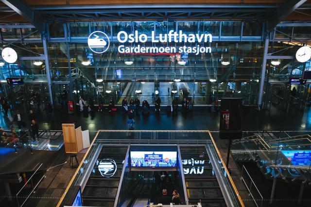 オスロ空港(ノルウェー)の写真