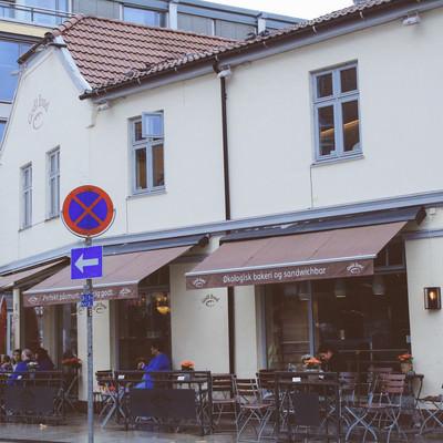 ベルゲンのカフェの写真