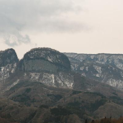 「丸岩(群馬県)」の写真素材