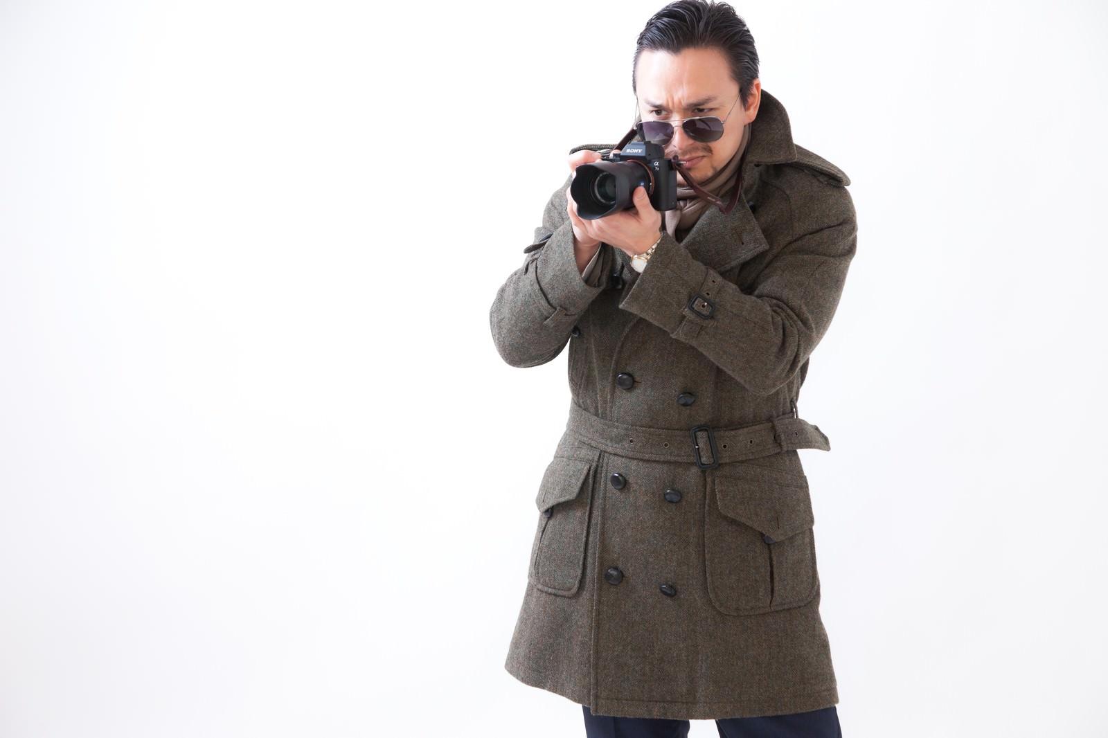 「カメラメーカーからオファーを狙うドイツ人ハーフ」の写真[モデル:Max_Ezaki]