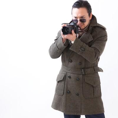 「カメラメーカーからオファーを狙うドイツ人ハーフ」の写真素材
