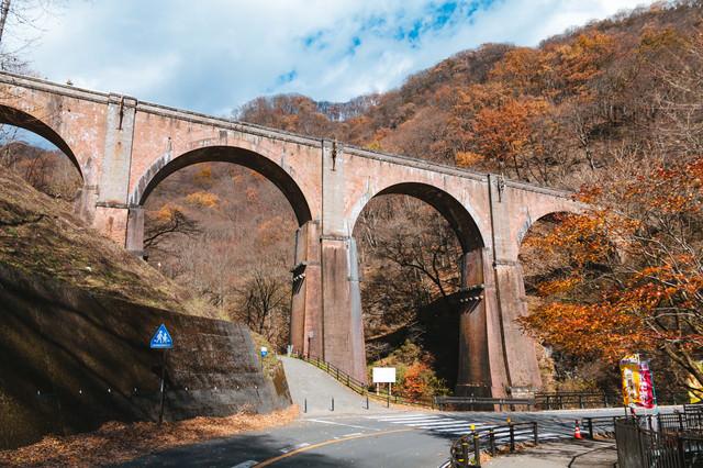 碓氷峠めがね橋(碓氷第三橋梁)の写真
