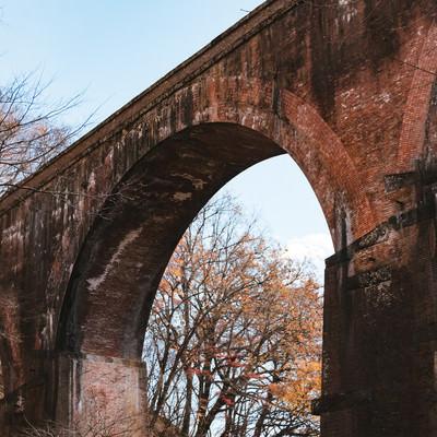 「煉瓦アーチ(群馬県めがね橋)」の写真素材