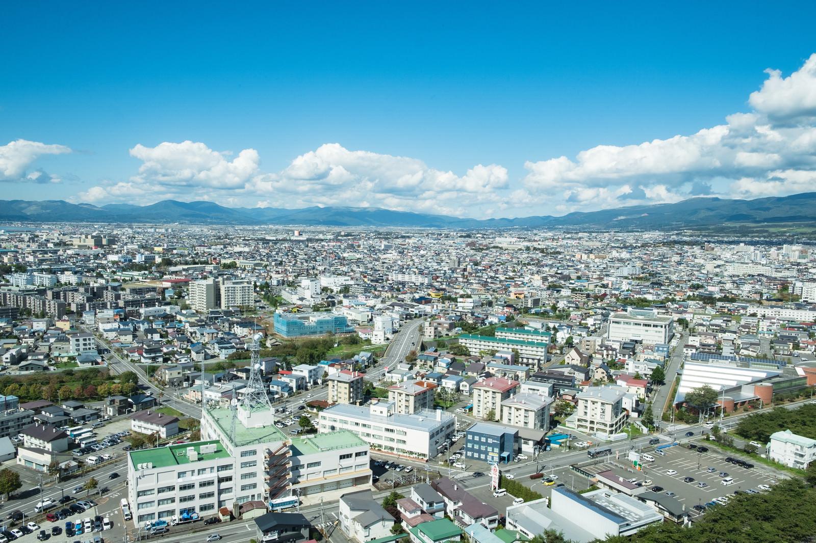 「函館市街」の写真