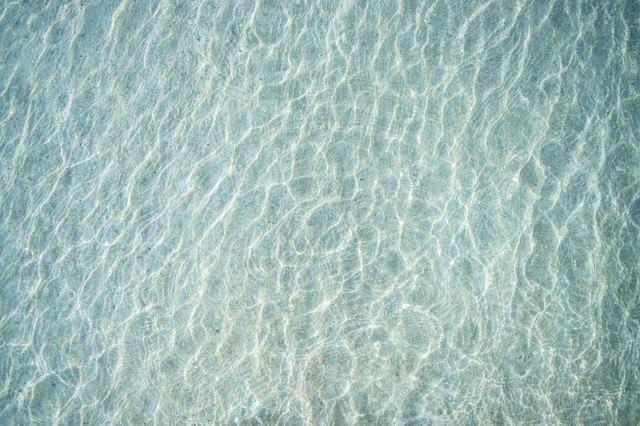 浅瀬のテクスチャの写真