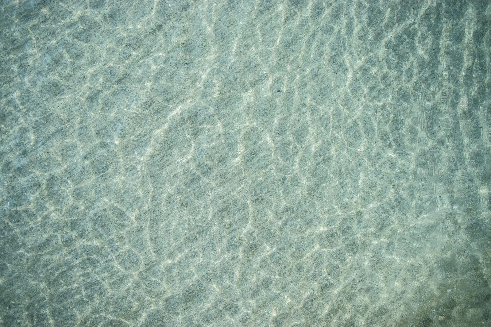 「浅瀬の海」の写真