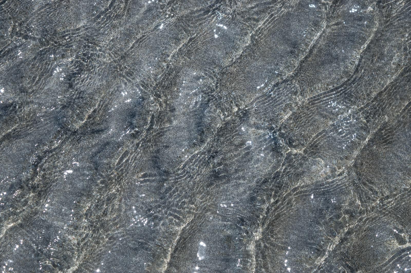 「水面の波」の写真