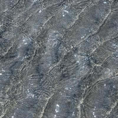 水面の波の写真