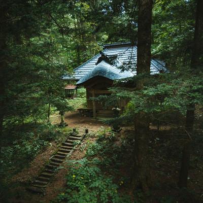 歴史ある狩宿諏訪神社(長野原町)の写真