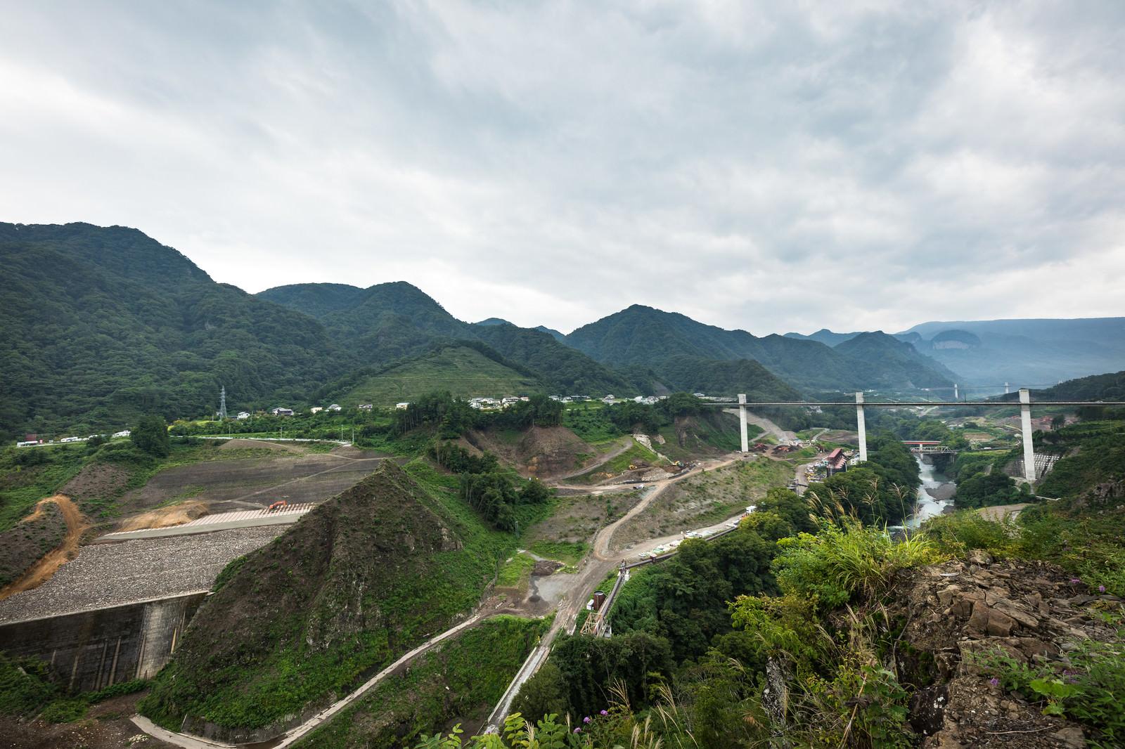 「やんば見放台からの景観」の写真