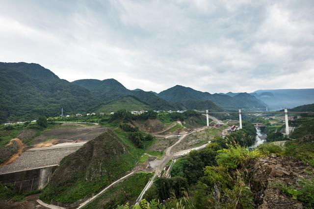 やんば見放台からの景観の写真