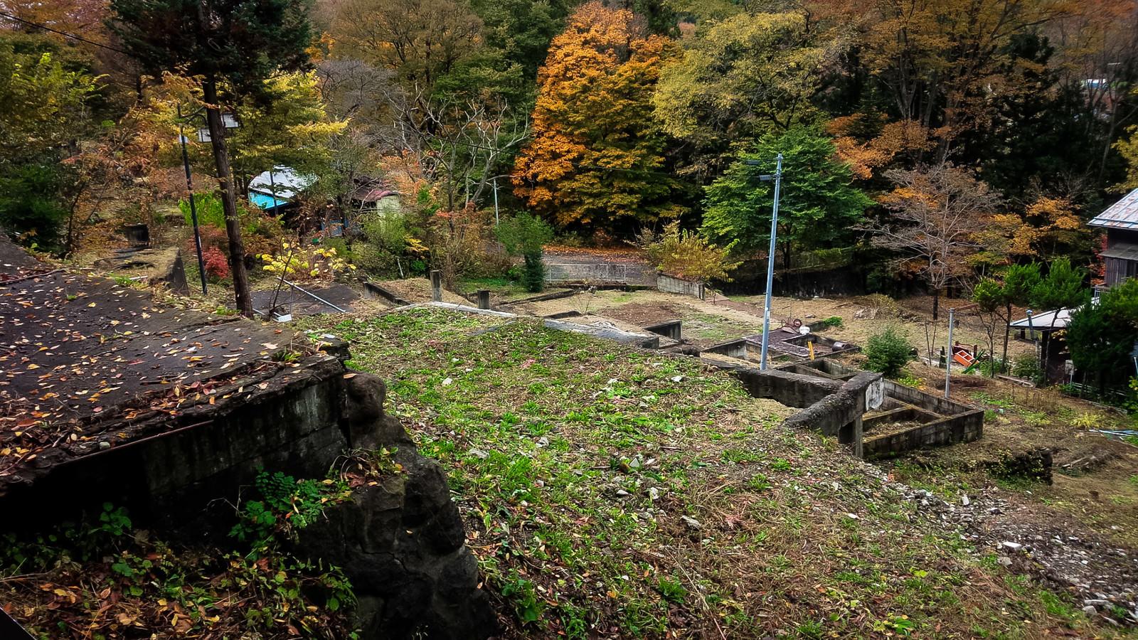 「旧川原湯温泉街跡」の写真